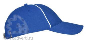 Бейсболки «Leader 206», синяя
