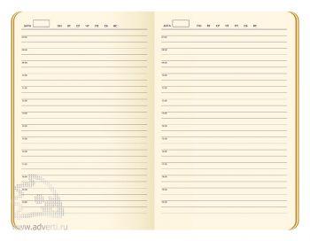 Внутренний блок недатированного ежедневника