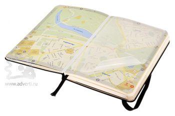 Записная книжка «City London» (Лондон), Pocket, карта города