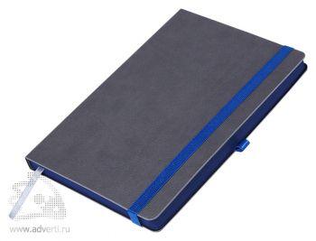 Ежедневник недатированный А5, Portobello Trend Aurora, серый с темно-синим