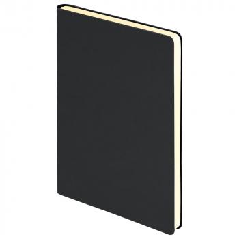 Ежедневник Spark А5, недатированный, чёрный, обрез блока