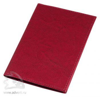 Обложка для авто-документов «Birmingham», красная