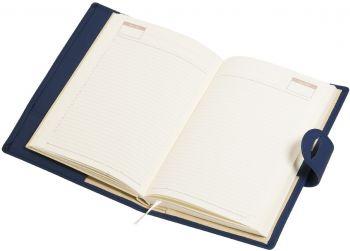 Ежедневник-портфолио «Passage», синий, в открытом виде
