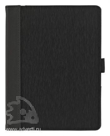 Папка А6 с блокнотом, черная