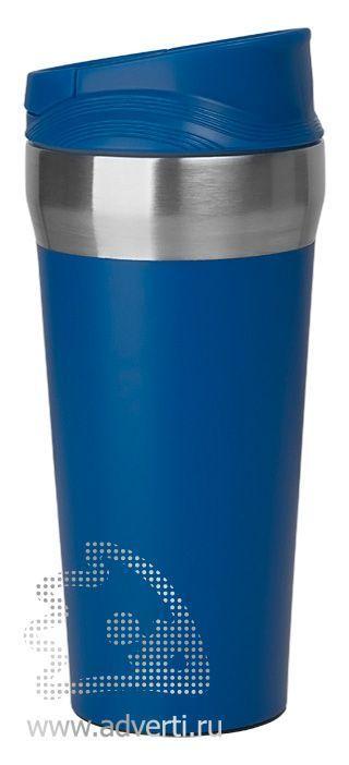 Термостакан с присоской «Константа», синяя
