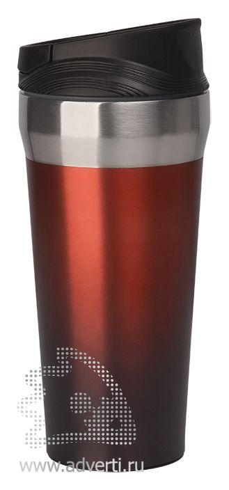 Термостакан с присоской «Константа», красная