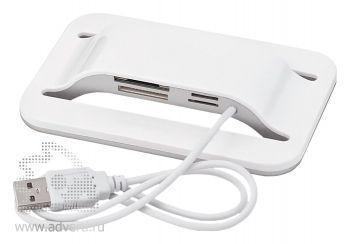 Хаб - картридер«4flash», слоты для чтения карт формата SD/Micro/M2/Memory Stick