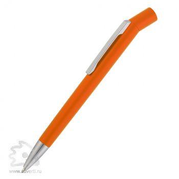 Ручка шариковая «George», оранжевый металлик