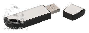 Флеш-карта USB «Перфекционист», черная