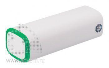 Источник энергии универсальный «POWER+», 2600 mAh, зеленый