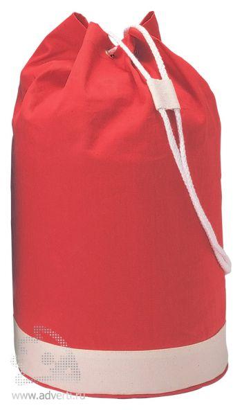 Мешок-рюкзак «Yatch», красный