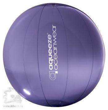 Пляжный мяч «Aqua», фиолетовый