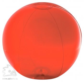 Пляжный мяч «Aqua», красный
