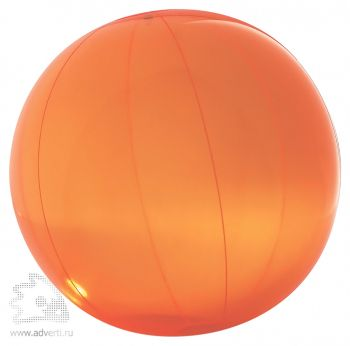 Пляжный мяч «Aqua», оранжевый