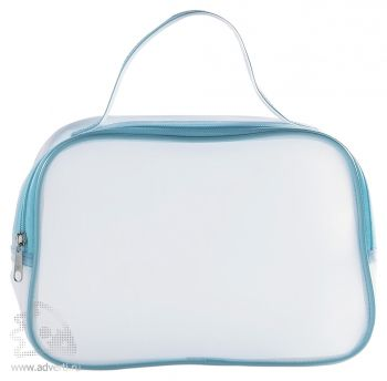 Прозрачная косметичка «Cosmonova», синяя