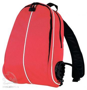 Водонепроницаемый рюкзак «Montego Bay» с отделением для бутылки, красный