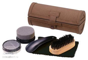 Набор для чистки обуви из 5 предметов «Gentleman»