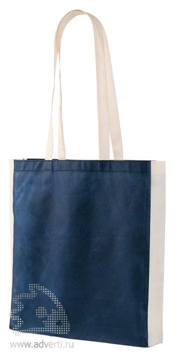Сумка из нетканого материала «Shopmag», синяя