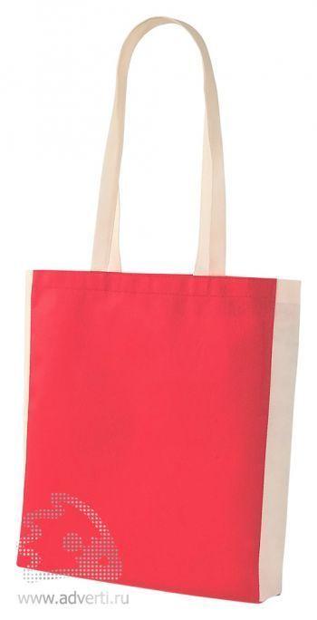 Сумка из нетканого материала «Shopmag», красная