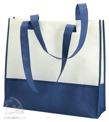 Пляжная сумка из нетканого материала «Vivi», синяя