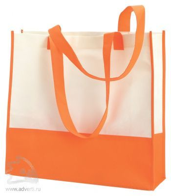 Пляжная сумка из нетканого материала «Vivi», оранжевая