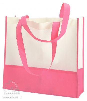 Пляжная сумка из нетканого материала «Vivi», розовая
