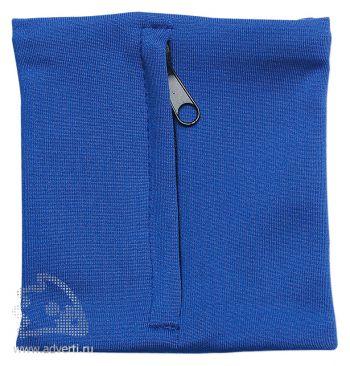 Напульсник с карманом «Prorun», синий