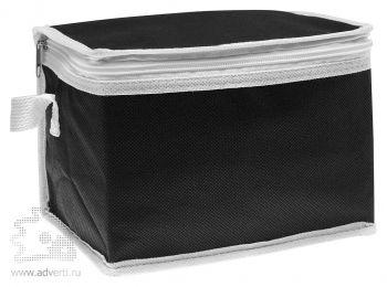 Сумка-кулер для шести банок «Promocool», черная