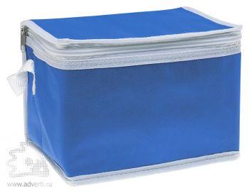 Сумка-кулер для шести банок «Promocool», синяя
