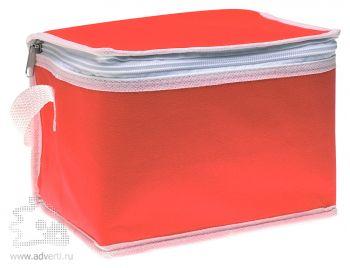 Сумка-кулер для шести банок «Promocool», красная