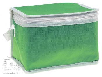 Сумка-кулер для шести банок «Promocool», зеленая