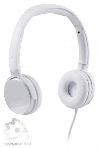 Наушники «Audiohead», белые