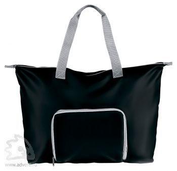 Складная дорожная сумка «Rivera», черная