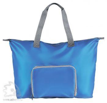 Складная дорожная сумка «Rivera», синяя