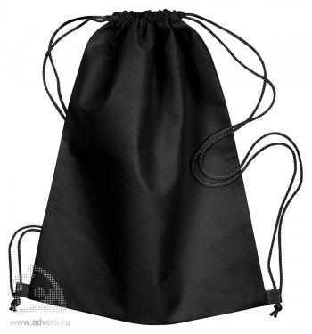 Сумка-мешок из нетканого материала «Daffy», черная