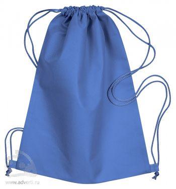 Сумка-мешок из нетканого материала «Daffy», синяя