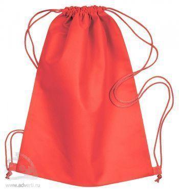Сумка-мешок из нетканого материала «Daffy», красная