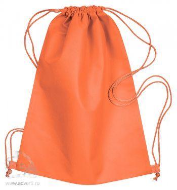 Сумка-мешок из нетканого материала «Daffy», оранжевая