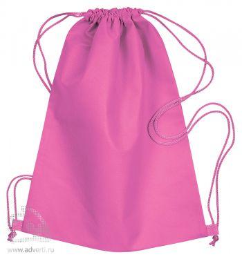 Сумка-мешок из нетканого материала «Daffy», розовая
