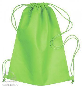 Сумка-мешок из нетканого материала «Daffy», светло-зеленая