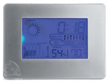 Метеостанция «Terrell» с будильником, календарем и часами