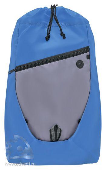 Сумка-рюкзак на шнуре «Hyki», синий
