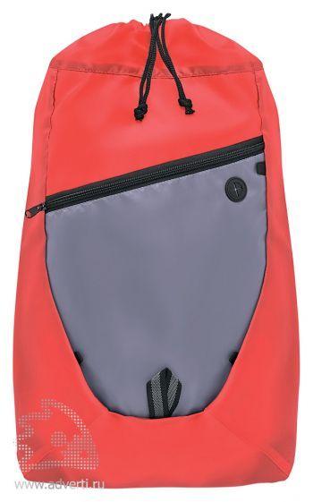 Сумка-рюкзак на шнуре «Hyki», красный