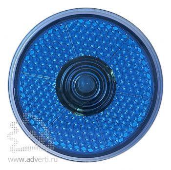 Светоотражающий фонарь «Blinkie» с клипсой для крепления, синий