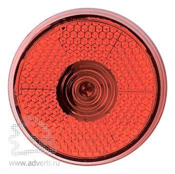Светоотражающий фонарь «Blinkie» с клипсой для крепления, красный