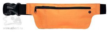 Кошелек поясной  «Smooth», оранжевый