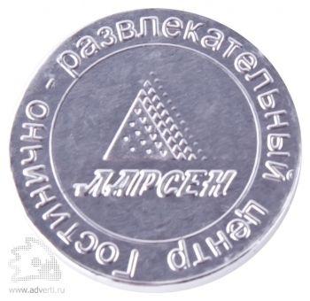 Шоколадные медали 6 г, серебряная фольга
