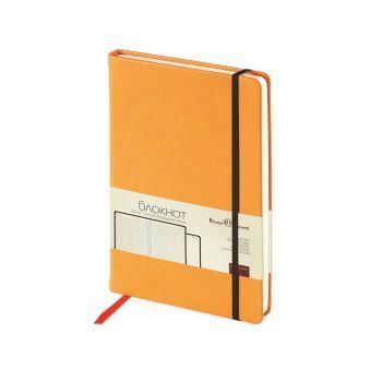 Блокнот «Megapolis Velvet», оранжевый