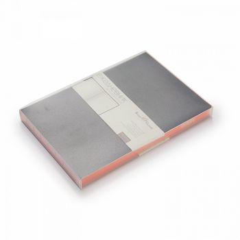 Ежедневники «Mercury», чёрные, слив-бокс (индивидуальная упаковка)