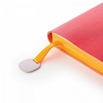 Ежедневники «Mercury», красные, ляссе с шильдом